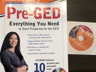 Pre-GED Book for Sale in St. Louis,  MO