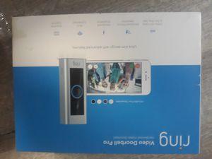 Ring videodoor bell pro for Sale in Greenville, SC