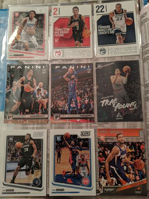 Panini 18-19 rookie card lot for Sale in Knightdale, NC