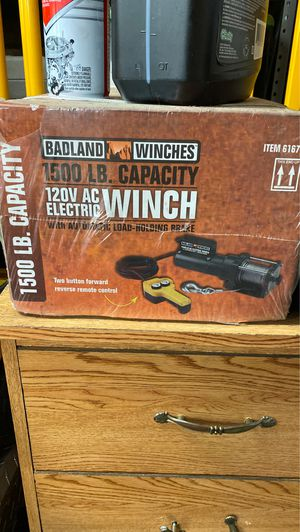 1500lbs badlands winch never used for Sale in La Center, WA