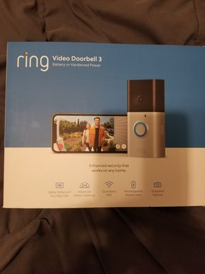 Ring video doorbell 3 for Sale in Dearborn, MI