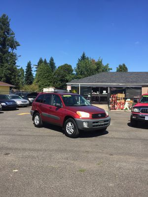 2001 Toyota RAV4 4x4 for Sale in Portland, OR