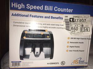 Royal Sovereign High Speed Bill Counter for Sale in Vidalia, LA