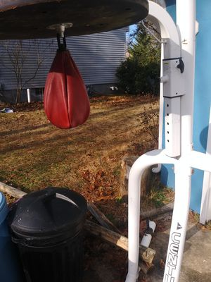 Everlast speed bag and punching bag for Sale in Erial, NJ