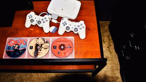 Classic Redesigned PlayStation 1 And Tv Stand (Free Delivery) for Sale in Allentown, PA