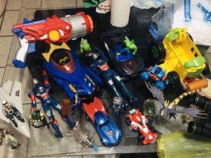 Marvel Juguetes Variados 22 piezas $30 por todo Recojer en 12185 sw 26 st Miami Fl 33175 for Sale in Miami, FL