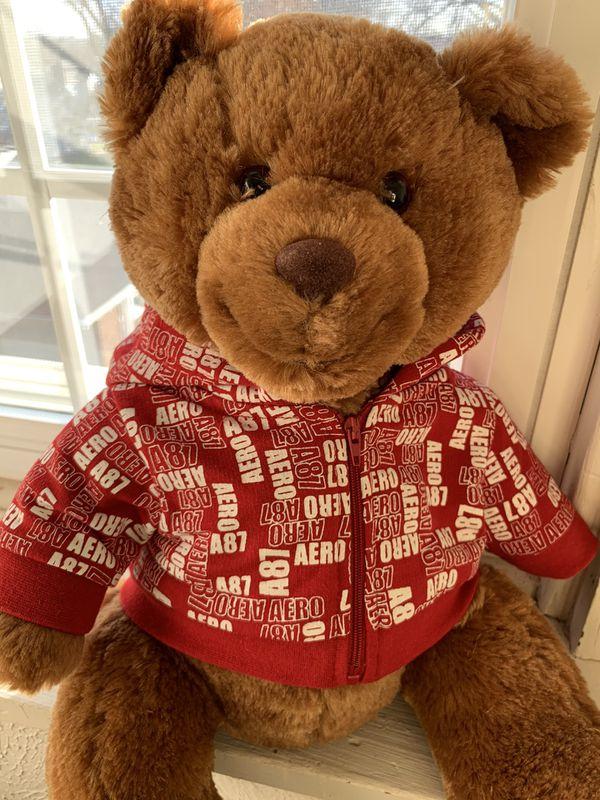 NEW Aeropostale Christmas Teddy Bear