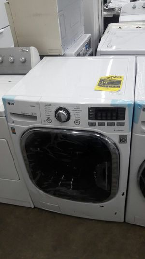 New LG washer and dryer all in one scratch and dent. 110 volts and ventless for Sale in Washington, DC