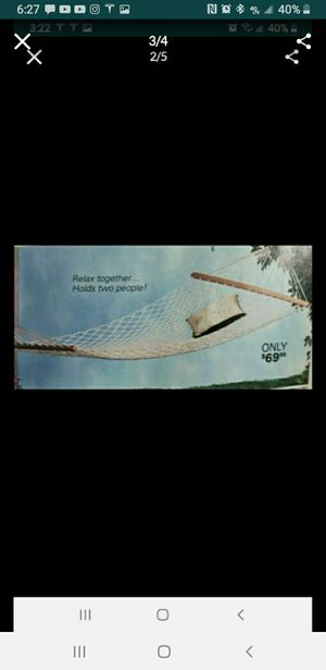 2 people hammocks for Sale in Las Vegas, NV