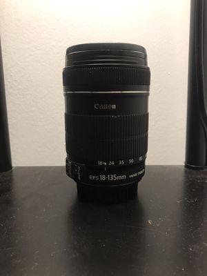 Canon 18-135mm for Sale in Pompano Beach, FL