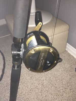Okuma reel and rod setup for Sale in Seminole, FL