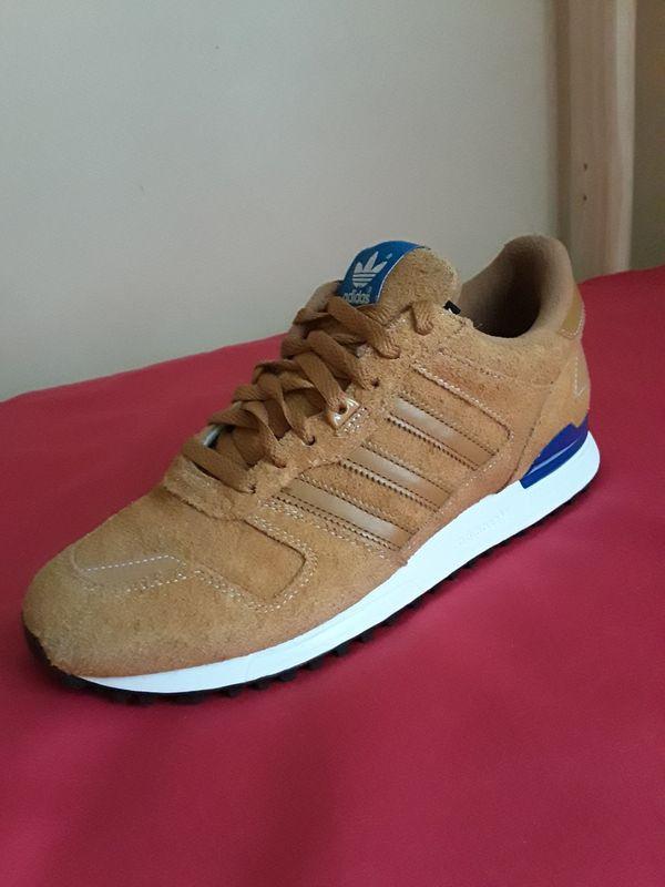 Men's Adidas Dark Tan Suede Size 9.5