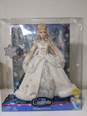 Rare 2004 Disney Barbie Cinderella Holiday Princess SE for Sale in Glen Ellyn, IL