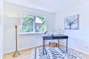 Smoke Grey wood desk for Sale in Newark, CA