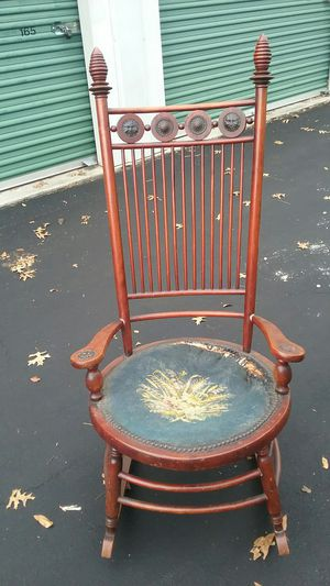 Vintage Rocking Chair Ready to Refurbish for Sale in Virginia Beach, VA