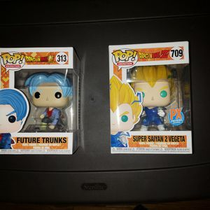POP Funko Dragonball Vegeta And Future Trunks for Sale in Aurora, IL