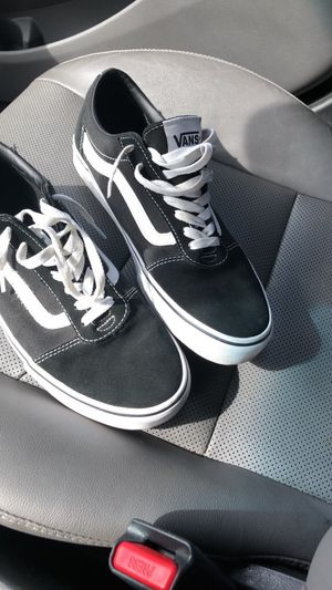Black and white vans for Sale in Florence, SC