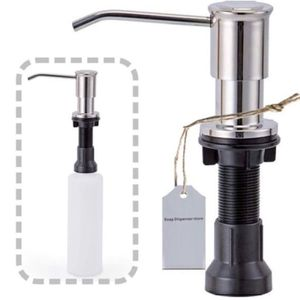 Stainless Steel Built In Soap Dispenser For Kitchen Sinks,Refill From The Top 17 oz Bottle for Sale in Rancho Cucamonga, CA