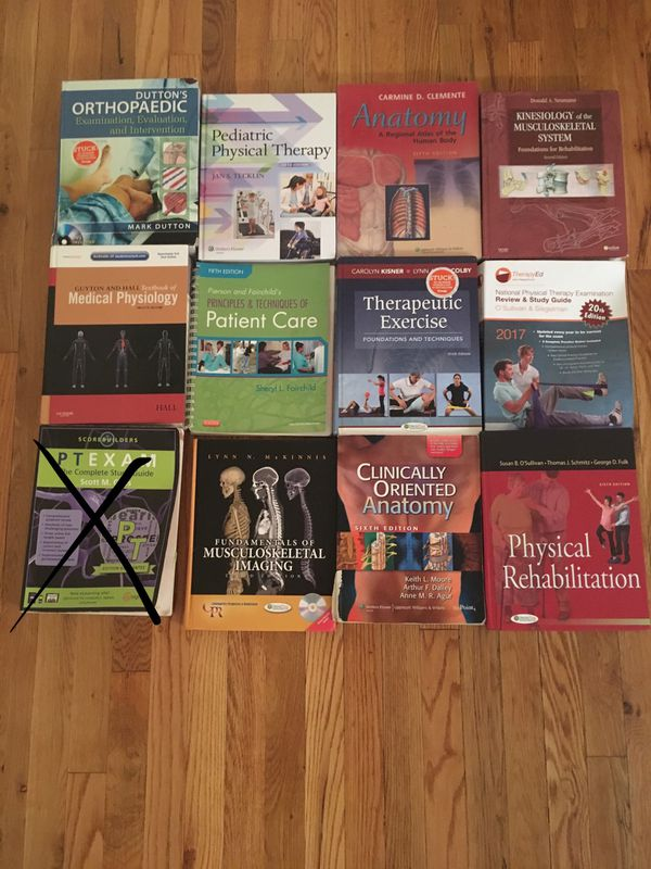 Physical therapy textbooks