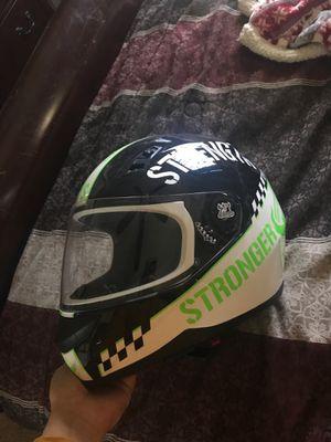 "Motorcycle helmet ""speed and strength"" size medium for Sale in Hemet, CA"