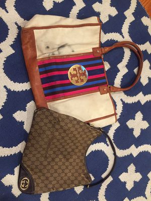Gucci satchel & Tory Burch Tote for Sale in Gaithersburg, MD