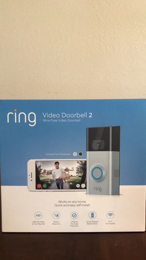 Ring Video Door Bell 2 for Sale in Port St. Lucie, FL