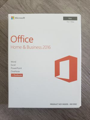 Microsoft Office Home and Business 2016 for Sale in Buena Park, CA