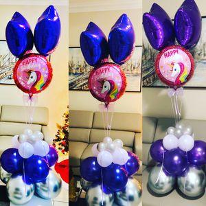 Arreglos y decoración en globos! Centro de mesas.. Balloon Arrangements for special events... for Sale in Hialeah, FL