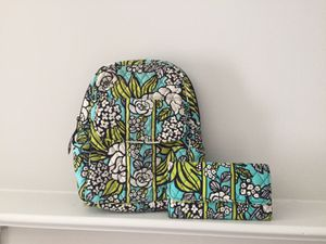 Vera Bradley BackPack & Wallet for Sale in Westerville, OH
