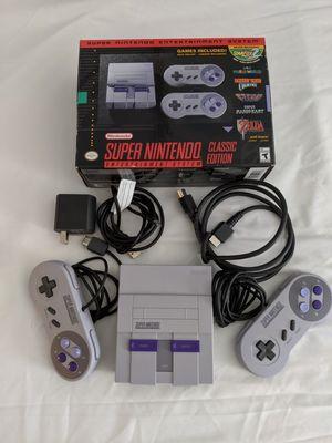 Super Nintendo Classic Edition mini console for Sale in Alexandria, VA