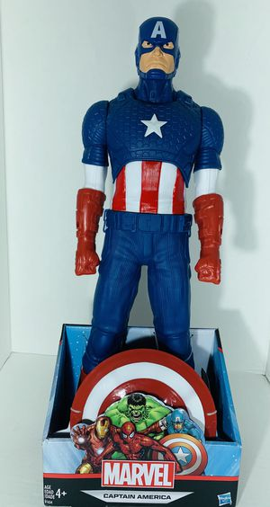 """NEW""IN BOX Marvel Titan Hero 20-inch Captain America (New ) for Sale in Las Vegas, NV"
