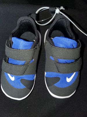 Black/Blue Nike's Size 5c for Sale in Renton, WA