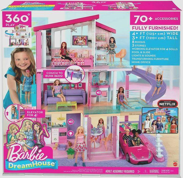 NEW Barbie Dreamhouse Playset