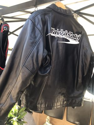 Kawasaki motorcycle jacket for Sale in Montclair, CA