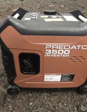 3500 ultra quiet generator for Sale in Vancouver, WA