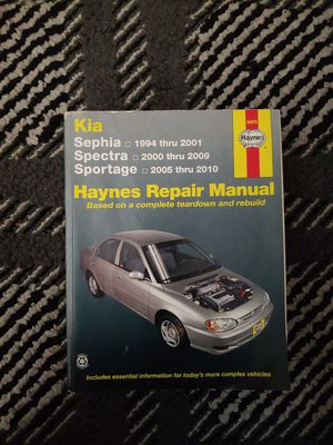 Kia repair manual for Sale in Tacoma, WA