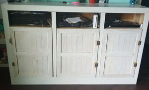Solid Wood Entertainment/Storage Center for Sale in Charlestown, IN