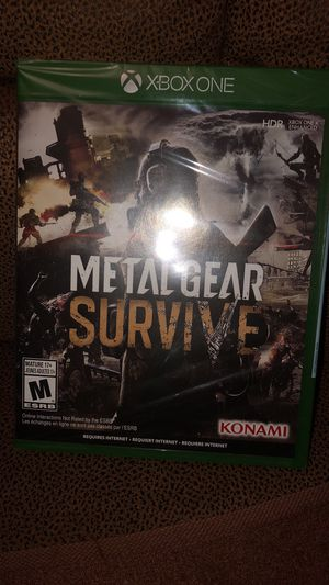 Brand new XBOX ONE Metal Gear Survive for Sale in Chicago, IL