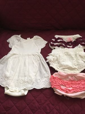Baby clothes for girl 6-9 months & other stuff for Sale in Fort Lauderdale, FL