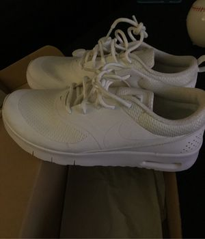 White Nike's 3Y (fits woman's 5.5) for Sale in San Diego, CA