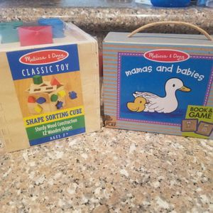 SHAPE SORTING CUBE PLUS MAMAS & BABIES for Sale in Houston, TX