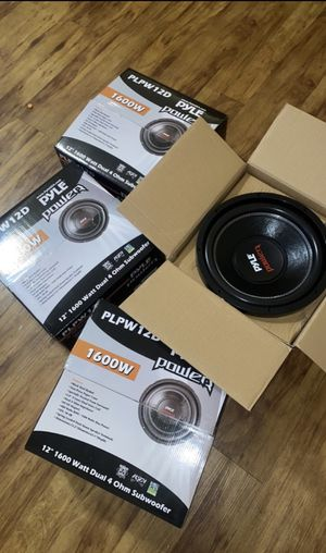 (4) 12 inch subs for $300 for Sale in Akron, OH