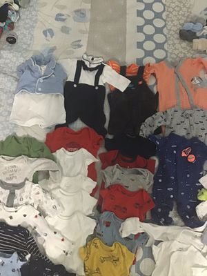 baby clothes boy newborn for Sale in Fort Lauderdale, FL