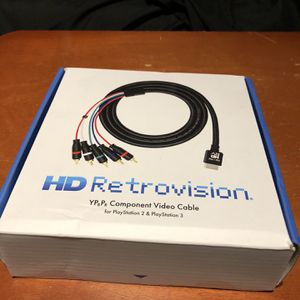 HD Retrovision Component Cables for Sale in Chaplin, CT