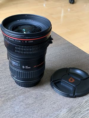 Canon 16-35mm f2.8 L-series lens for Sale in San Francisco, CA