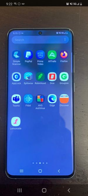 No shipping...Samsung galaxy 5G unlocked, open box, please no scams , cash and face to face meeting. New is 999 + tax for Sale in Atlanta, GA