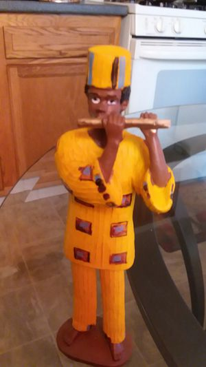 COLLECTIBLE AFRICAN AMERICAN FLUTE PLAYER for Sale in Wilmington, DE