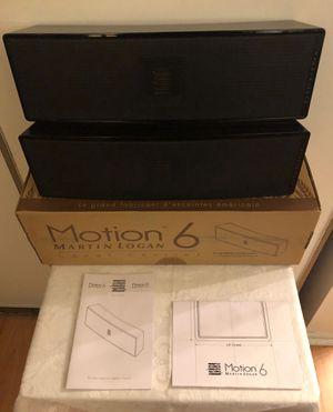 PAIR Of Martin Logan Motion 6 Gloss Black for Sale in Woodbridge, VA