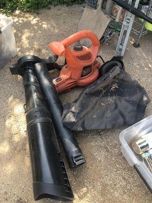 Black and decker leaf blower for Sale in Santa Monica, CA