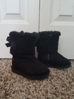 Toddler girls size 5 black winter boots for Sale in Colorado Springs, CO